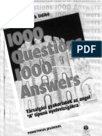 1000 Questions 1000 Answers 1