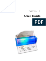 Prizmo User Guide