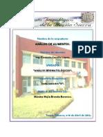 Unidad 3-Analisis Bromatologicos