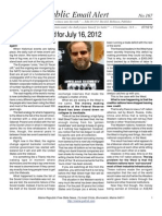167 - Benjamin Fulford for July 16, 2012