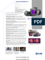FLIR T420, FLIR T420 Thermal Imaging Camera FLIR T 420