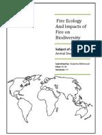 Fire Ecolog