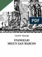 Taylor, Vincent - Evangelio Segun San Marcos