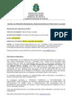EDITAL_PRES_2009-0001_Serv_de_tecnol_da_informação_-_ITIL_Publicado