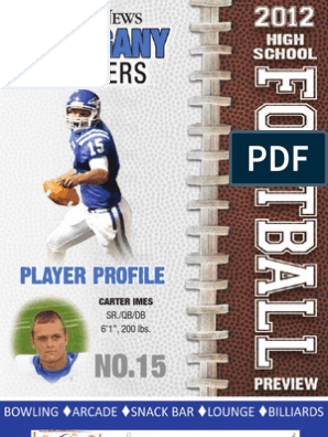 Allegany Fb Preview | Quarterback | Touchdown
