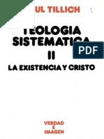 Tillich, Paul - Teologia Sistematica II