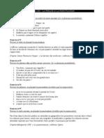 Grammaire Francaise Exercices de Revision