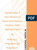 """Unsold Solar"