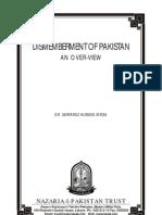 Dismemberment of Pakistan
