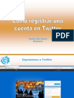 Tutorial sobre como crear una cuenta en Twitter y Overblog y sincronizarlas