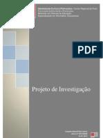 Projecto de investigação final