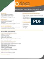Formation efficacité professionnelle et développement personnel pour préparer son entretien annuel d'évaluation  2012-2013