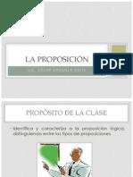 Tema N° 01 - La Proposición