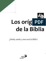 Varios Autores - Los Origenes de La Biblia