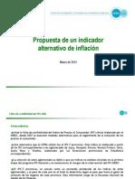 CIFRA - Propuesta de un indicador alternativo de inflación (Marzo 2012)