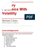 Memory Forensics With Volatility