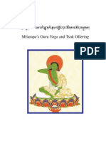 "Jetzun Milarepa's Guru Yoga and Tsok Offering, known as ""The Blazing Torch of Wisdom, also proclaimed as the prayer in praise of the supreme Practice Lineage ""The Wish-fulfilling Tone"" - 57-en"