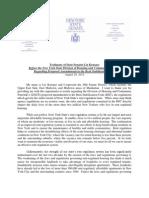 2012-08-28 DHCR Regulation Testimony