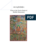Praise of the Twelve Deeds of Buddha Shakyamuni - Composed by Pawo Tsogla Tringwa - 46-En