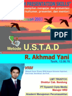 Presentation Skill Met. USTAD