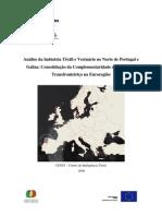 Analise Da Industria Textil e Vesturario de Portugal e Galiza