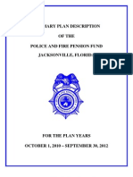 PFPF Summary Plan Booklet 2010 2012