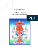 The Sacred Prayer of the Eight Auspiciousness - Tsunpa Tzepe Dorje (Mipham Rinpoche) - 72-En