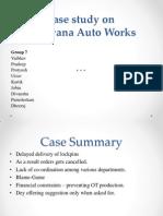 SOM Case Analysis