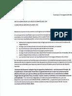 Lea la carta de respaldo al profesor Pedro Kim 2