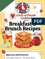25 Breakfast & Brunch Recipes by Gooseberry Patch