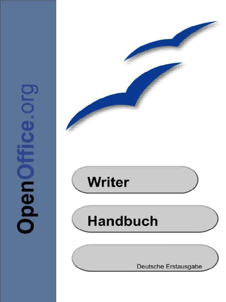 Open Office Writer Handbuch