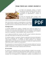 Fracasa estrategia federal para combatir obesidad en México