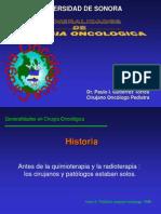 Generalidades de Cirugia Onoclogica