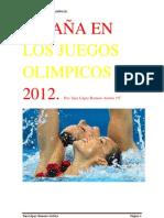 ESPAÑA EN LOS JUEGOS OLIMPICOS 2012!