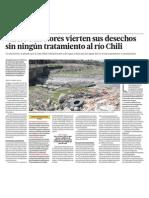 Contaminacion Rio Chili