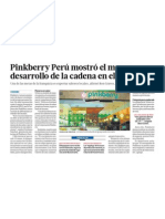 Negocio Pinkberry Peru