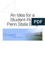Idea for a Student-Run Penn State Blog