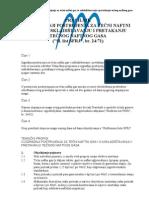 Pravilnik o izgradnji postrojenja za tečni naftni gas i u uskladištavanju i pretakanju tečnog naftnog gasa
