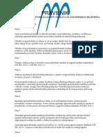 Pravilnik o tehničkim normativima za zaštitu objekata od atmosferskog pražnjenja