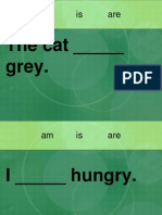 Am is are verb Powerpoint fill in