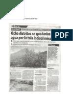Nota Publicada en El Diario NOTICIAS