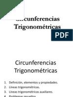 circunfererncia tigonometrica