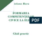 Formarea Competentelor Civice La Elevi