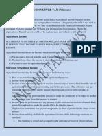 Zubair Agriculture Tax