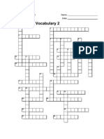 7th Grade Vocabulary Puzzle