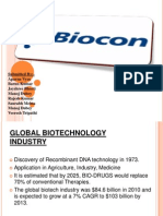 Ppt on Biocon