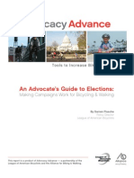An Advocate's Guide to Elections