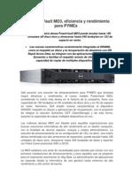 Dell anunció PowerVault MD3, su nueva solución de almacenamiento para PYMES