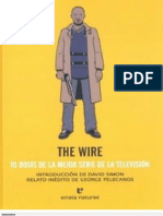 Wire. 10 Dosis de La Mejor Serie de La Tv, The - David Simon