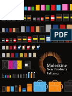 Moleskine Fall 12 Catalog